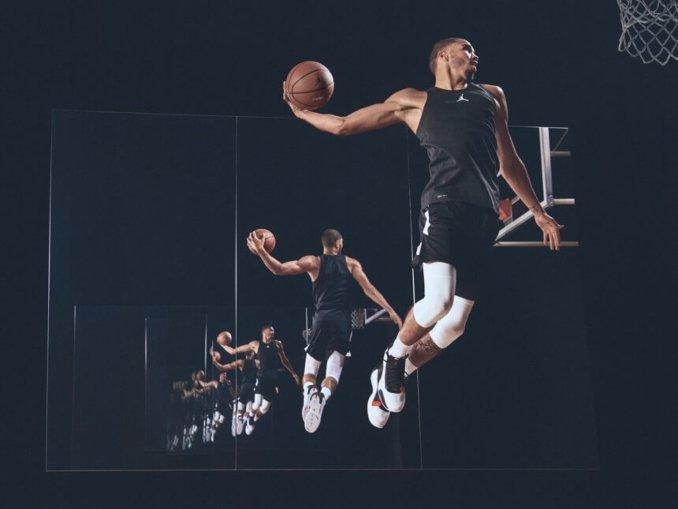 Air Jordan XXXIV on Zion Williamson advertising