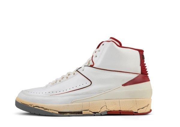 Air Jordan II White / Red