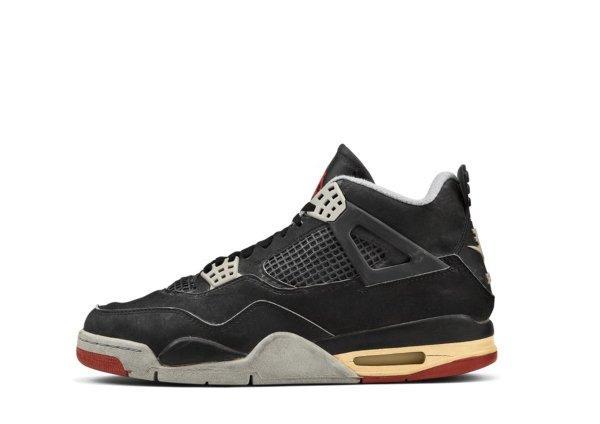 Air Jordan IV Black / Cement Grey