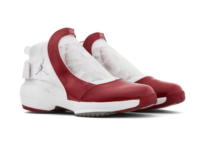 Air Jordan XIX red and white