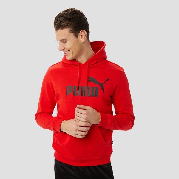 Trui Rood Heren.Puma No 1 Logo Trui Rood Heren Aktiesport
