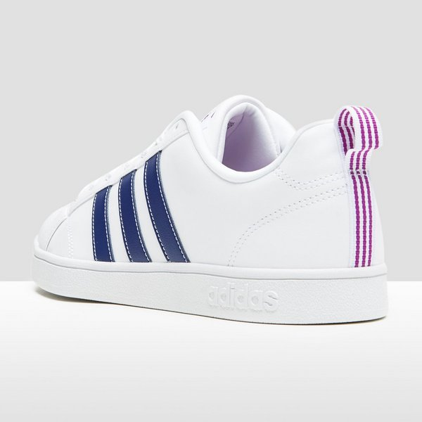 adidas sneakers wit blauw