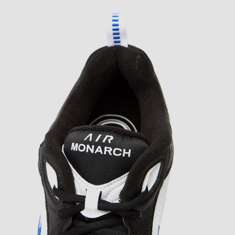 NIKE CHUNKY AIR MONARCH IV SNEAKERS ZWART/BLAUW HEREN