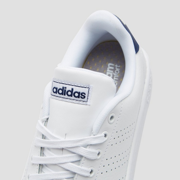 ADIDAS ADVANTAGE SNEAKERS WIT/BLAUW