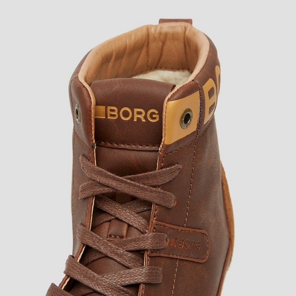 BJORN BORG T270 HIGH FNG SNEAKERS BRUIN HEREN