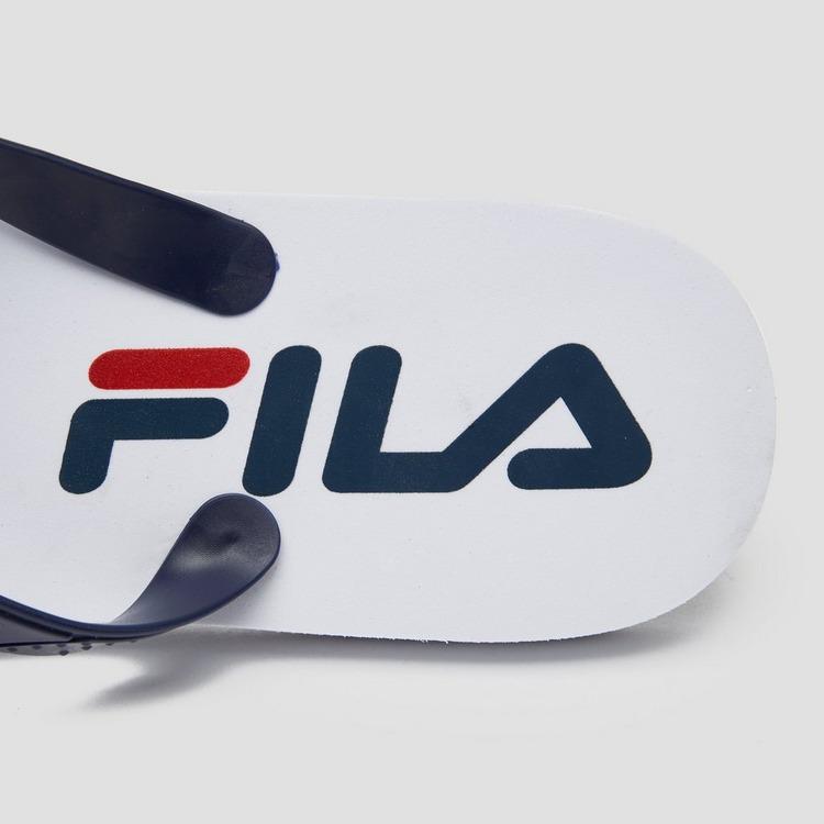 FILA SEABREEZE SLIPPERS WIT/BLAUW HEREN