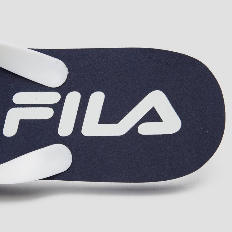 FILA SEABREEZE SLIPPERS BLAUW/WIT HEREN