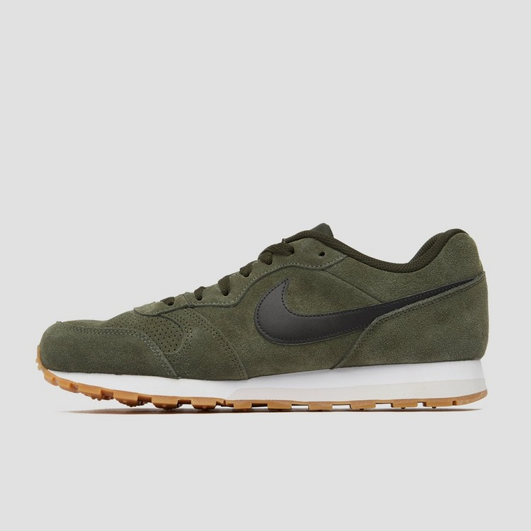 NIKE MD RUNNER 2 SUEDE SNEAKERS GROEN HEREN