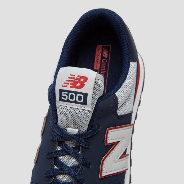 New Balance 500 SNEAKERS BLAUW/GRIJS HEREN