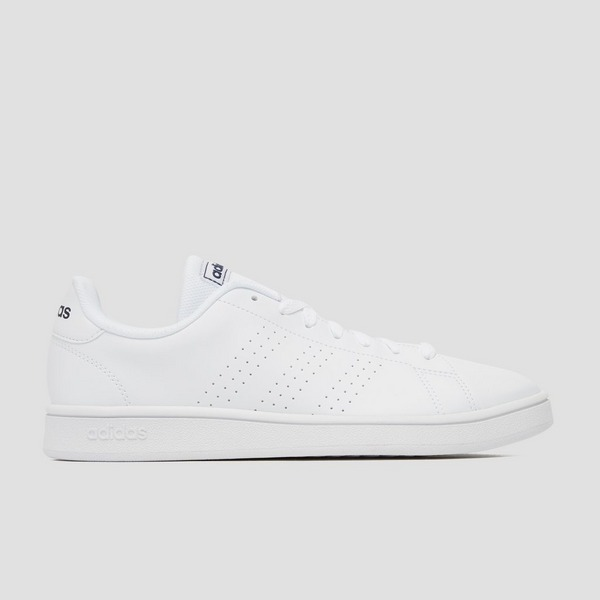 ADIDAS ADVANTAGE BASE SNEAKERS WIT/BLAUW HEREN