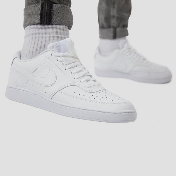 NIKE COURT VISION LOW SNEAKERS WIT HEREN | Aktiesport