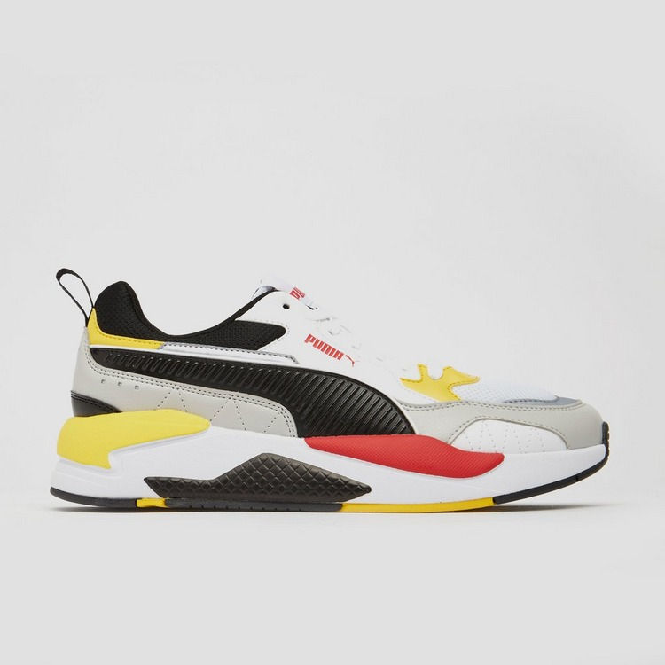 PUMA X-RAY 2 SQUARE SNEAKERS WIT/ROOD HEREN