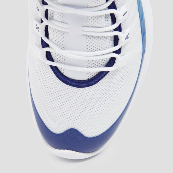 NIKE AIR MAX AXIS PREMIUM SNEAKERS WIT/BLAUW HEREN