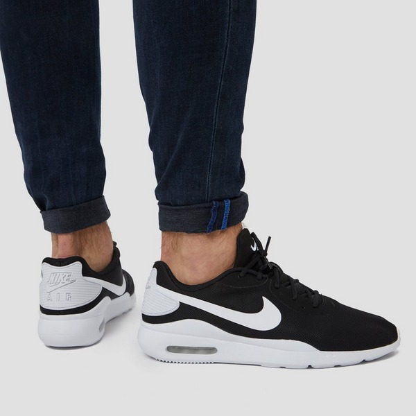 NIKE AIR MAX OKETO SNEAKERS ZWART/WIT HEREN