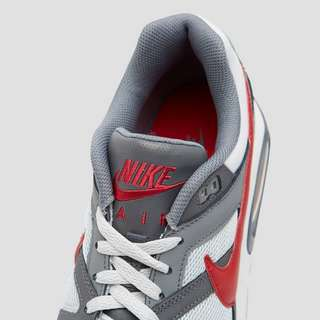 NIKE AIR MAX COMMAND SNEAKERS GRIJS/ROOD HEREN
