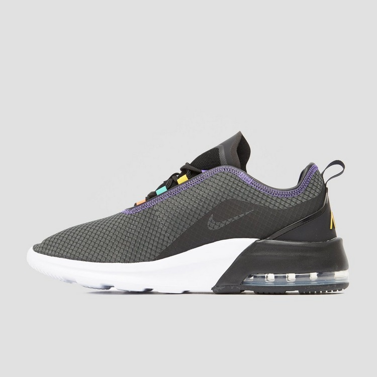 NIKE AIR MAX MOTION 2 SNEAKERS ZWART/ROOD HEREN