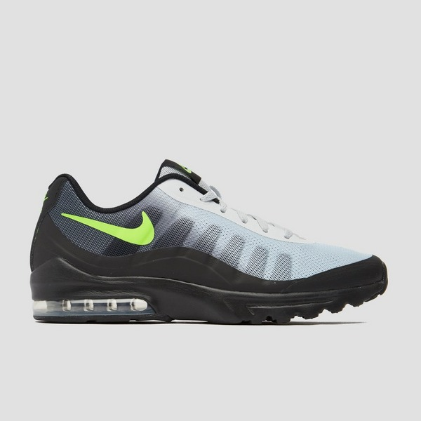 NIKE AIR MAX INVIGOR SNEAKERS ZWART/GROEN HEREN