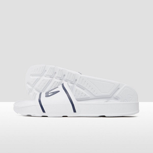 FILA SLEEK SLIDE LT SLIPPERS WIT/BLAUW HEREN