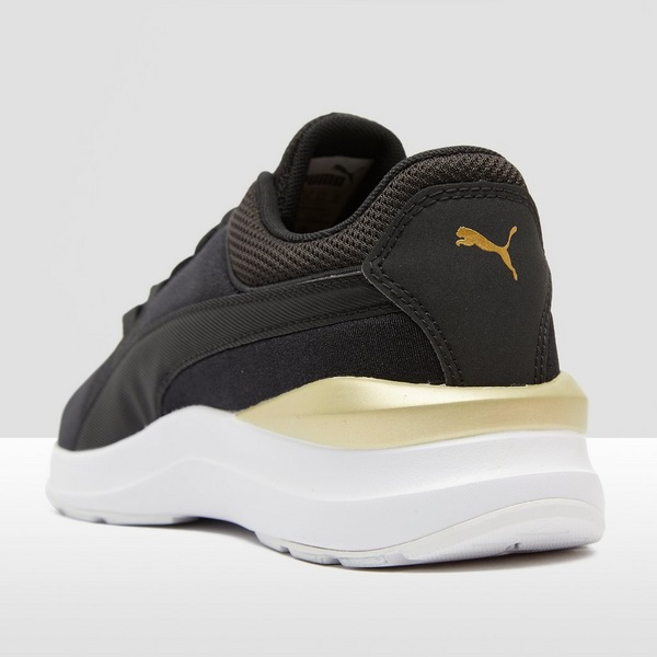 puma schoenen zwart goud