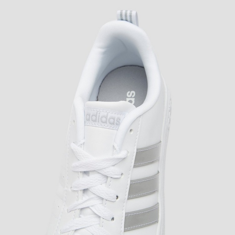 ADIDAS VS ADVANTAGE SNEAKERS WIT/ZILVER DAMES