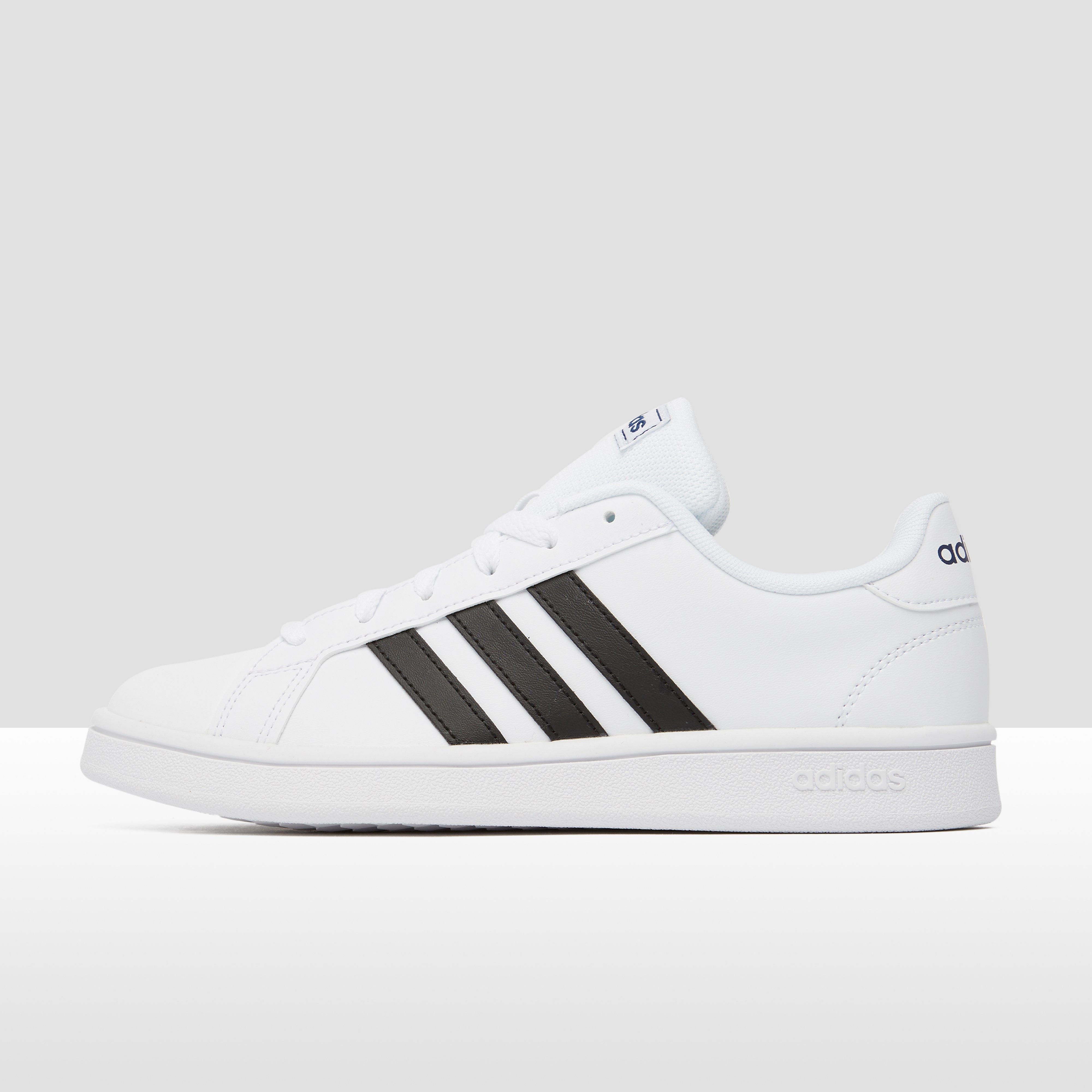 ADIDAS GRAND COURT BASE SNEAKERS WIT/ZWART DAMES | Aktiesport