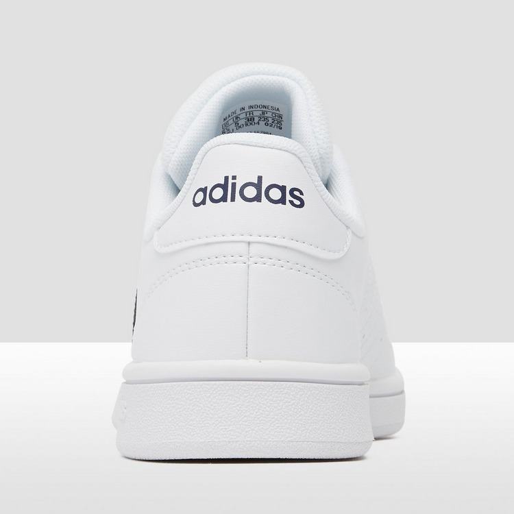 ADIDAS GRAND COURT BASE SNEAKERS WIT/ZWART DAMES