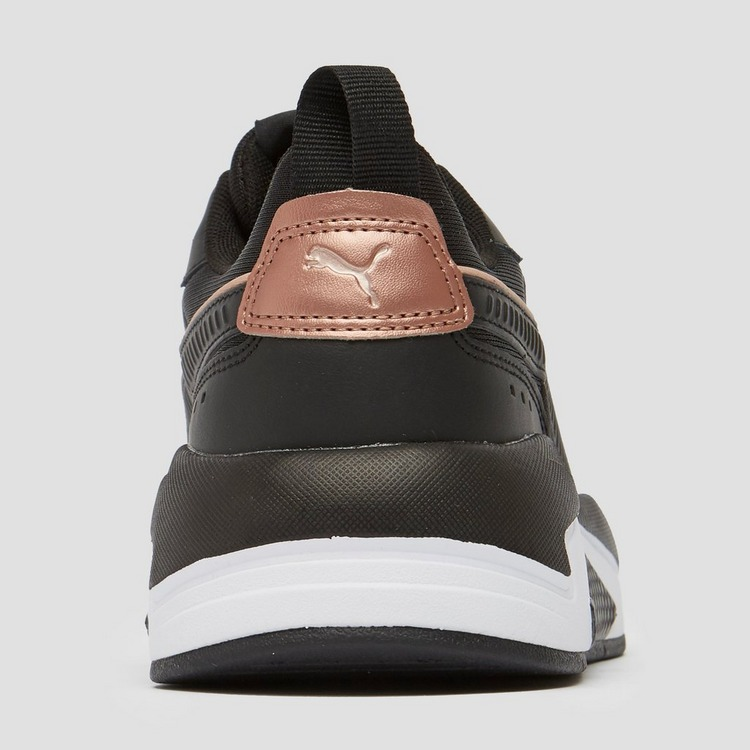 PUMA X-RAY METALLIC SNEAKERS ZWART/GOUD DAMES