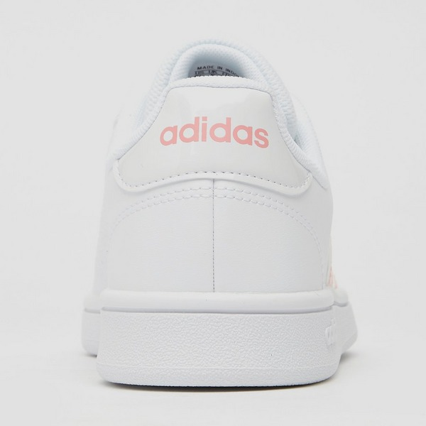 ADIDAS GRAND COURT BASE SNEAKERS WIT/ROZE DAMES