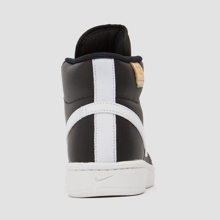 NIKE COURT ROYALE 2 MID SNEAKERS ZWART/WIT DAMES