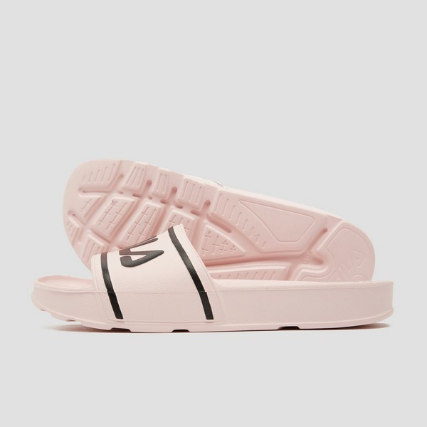FILA SLEEK SLIDE SLIPPERS ROZE DAMES
