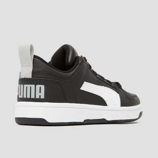 PUMA REBOUND LACE UP LOW SNEAKERS ZWART KINDEREN