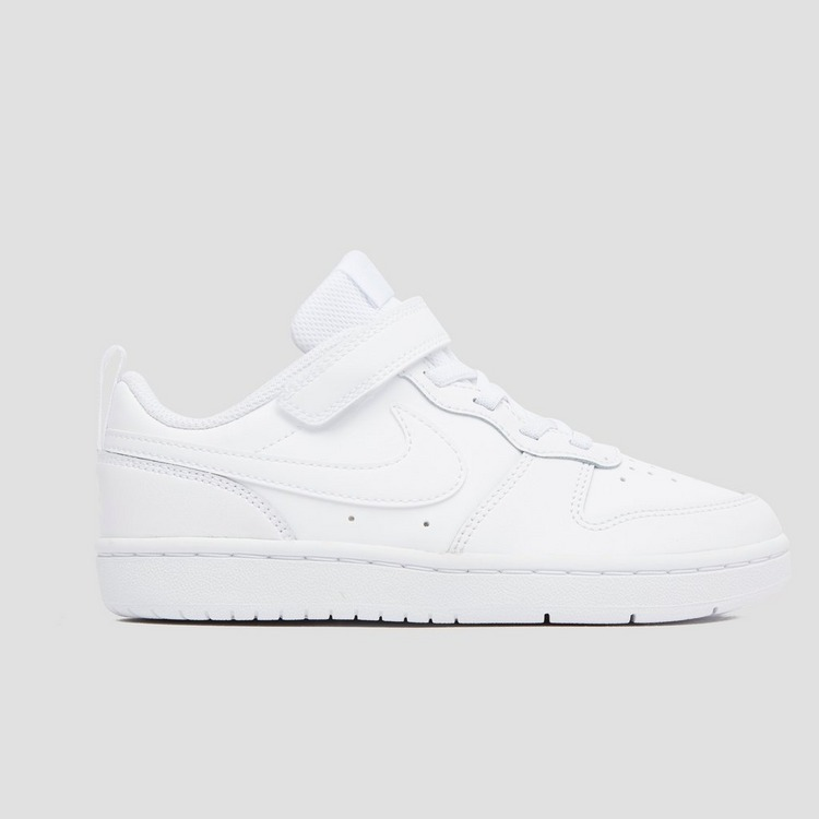 NIKE COURT BOROUGH LOW SNEAKERS WIT KINDEREN