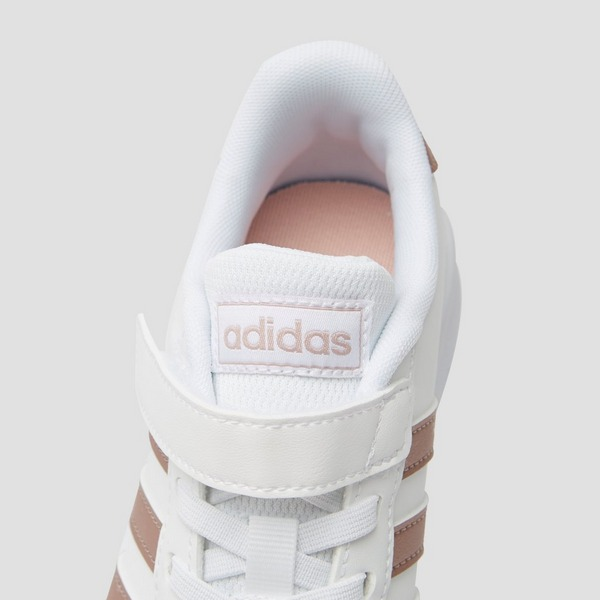 ADIDAS GRAND COURT SNEAKERS WIT/GOUD KINDEREN