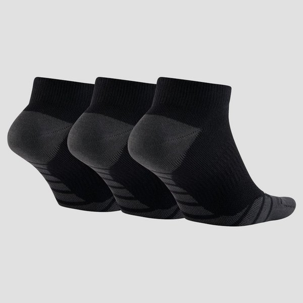 NIKE DRI-FIT LIGHTWEIGHT NO-SHOW 3-PACK HARDLOOPSOKKEN