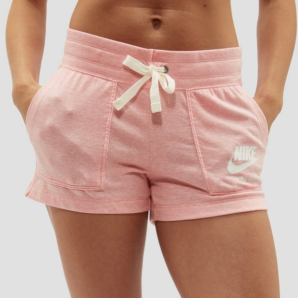 Zwem Korte Broek Dames.Nike Gym Vintage Korte Broek Roze Dames Aktiesport