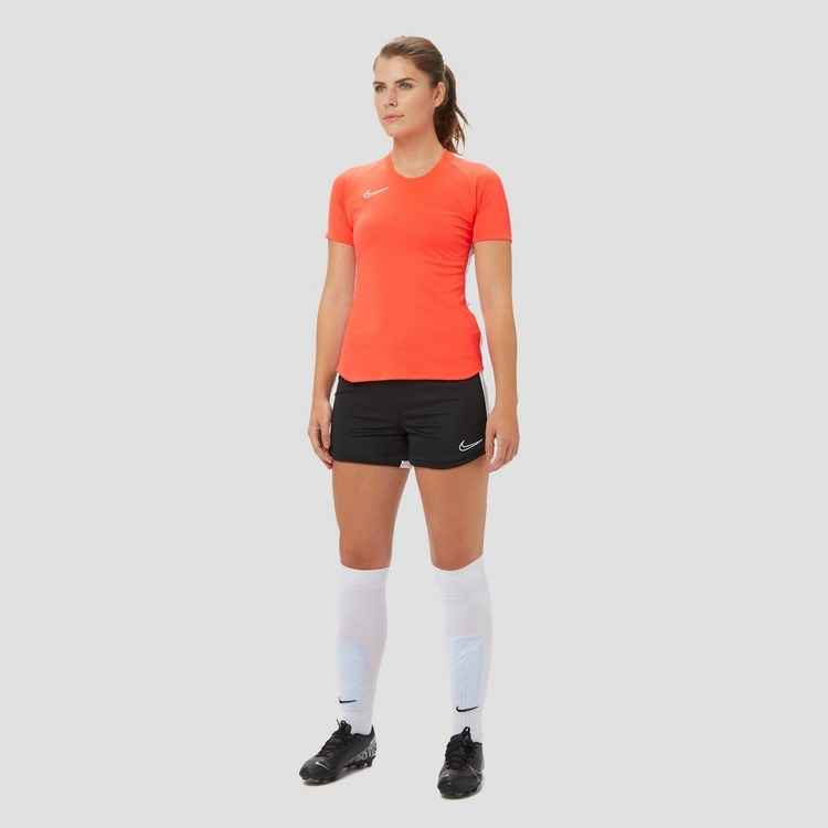 NIKE DRI-FIT ACADEMY VOETBALSHIRT ROOD DAMES