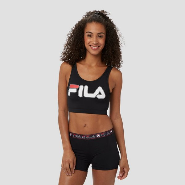 FILA TAPED SHORTY ZWEMBOXER ZWART DAMES