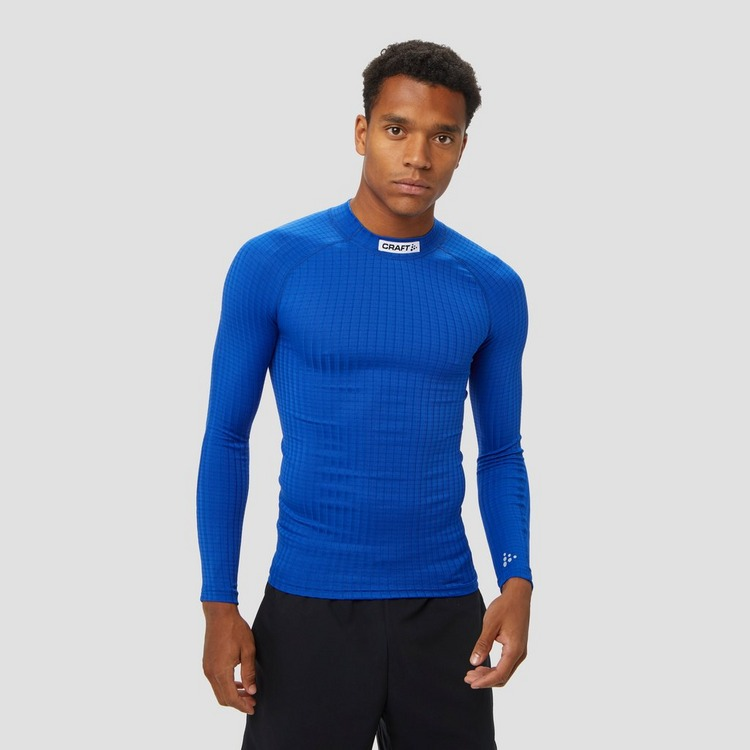 CRAFT PROG BASELAYER THERMOSHIRT BLAUW HEREN