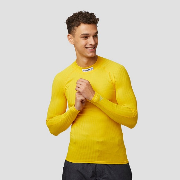 CRAFT PROG BASELAYER THERMOSHIRT GEEL HEREN
