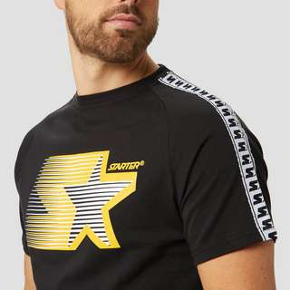 STARTER FITZGERALD TAPED SHIRT ZWART HEREN