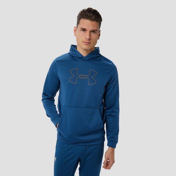 Heren Trui Blauw.Under Armour Fleece Graphic Trui Blauw Heren Aktiesport