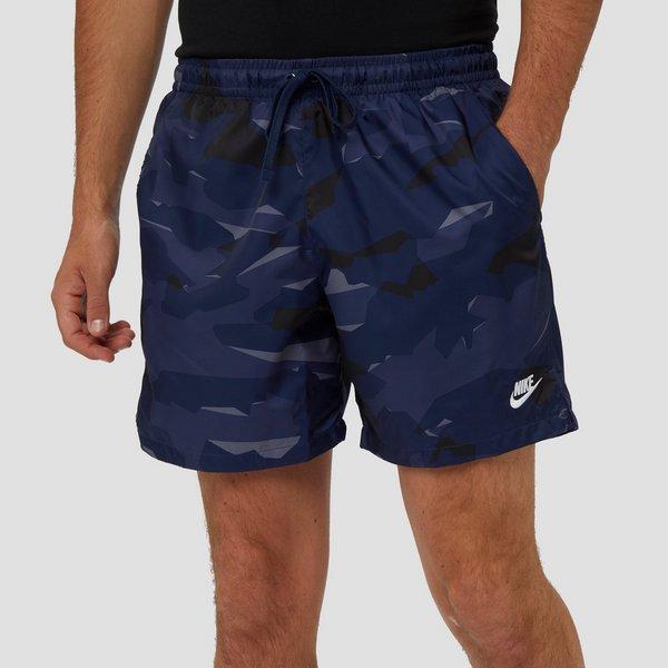 Korte Broek Camouflage Heren.Nike Woven Camouflage Korte Broek Blauw Heren Aktiesport