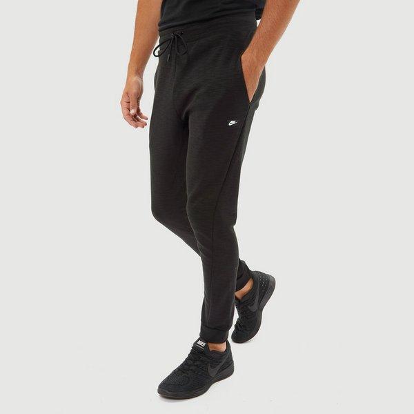 Joggingbroek Van Met.Nike Sportswear Optic Joggingbroek Zwart Heren Aktiesport