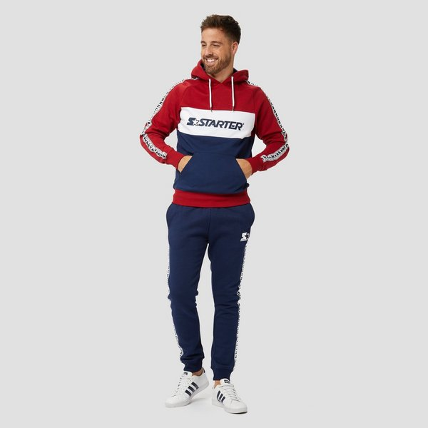 STARTER LATTIMORE TAPED JOGGINGBROEK BLAUW HEREN