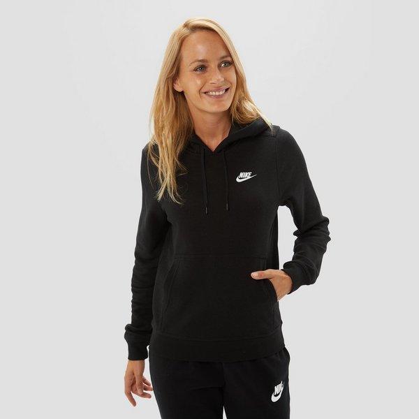 Fleece Trui Dames.Nike Sportswear Fleece Trui Zwart Dames Aktiesport