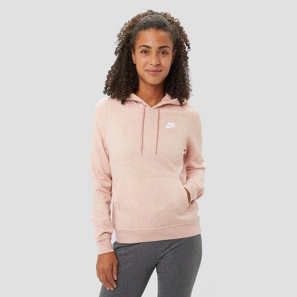 Dames Trui Roze.Nike Sportswear Fleece Trui Roze Dames Aktiesport