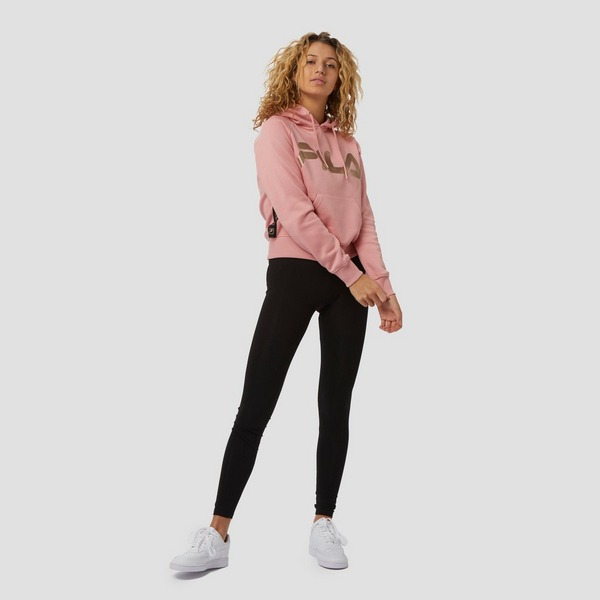FILA GIANNA TIGHT ZWART/GOUD DAMES