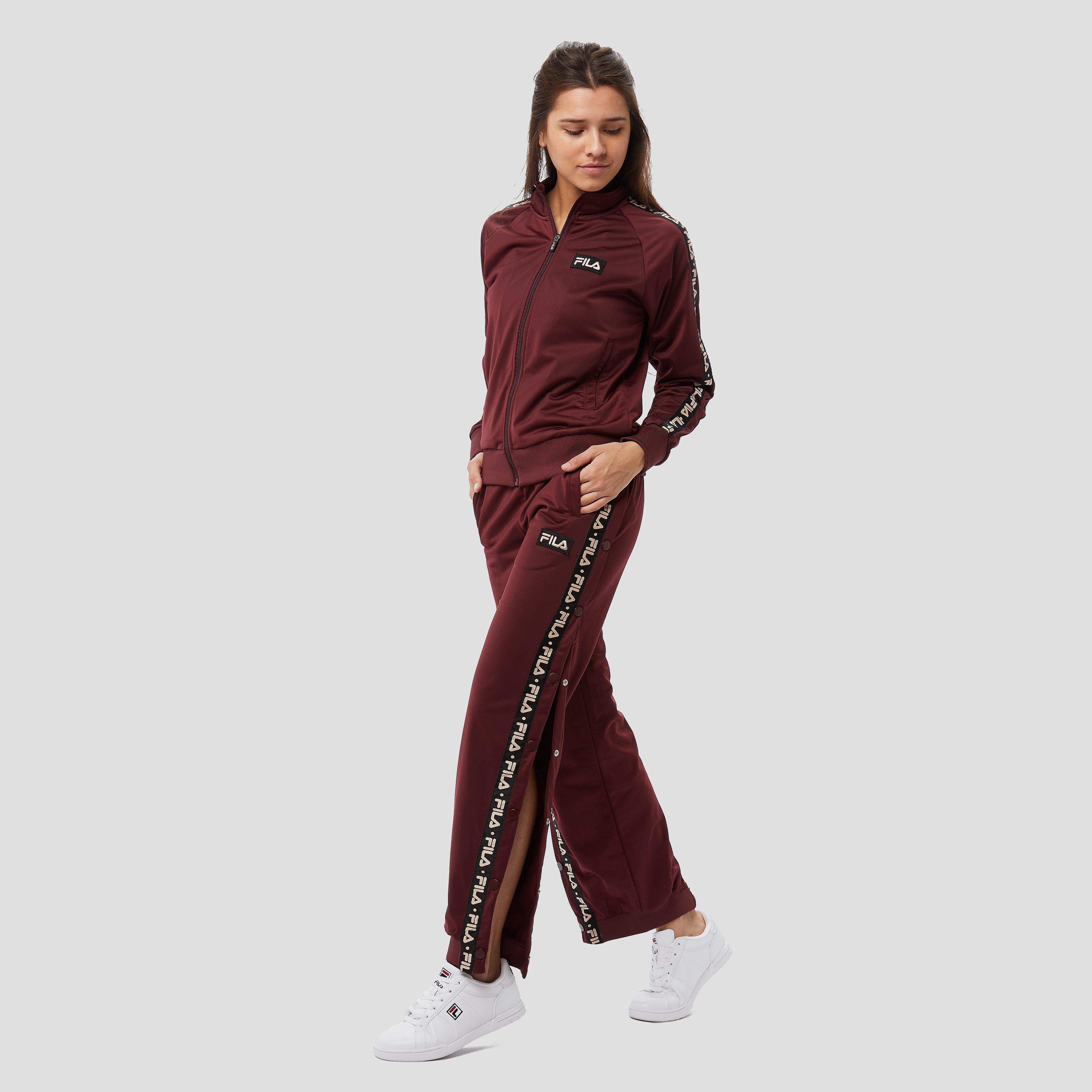 FILA SOBIO TRAININGSBROEK BORDEAUX ROOD DAMES