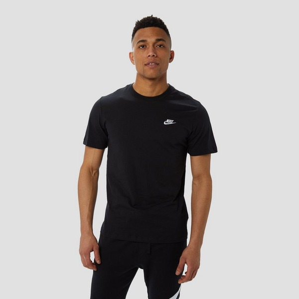 NIKE SPORTSWEAR CLUB SHIRT ZWART HEREN