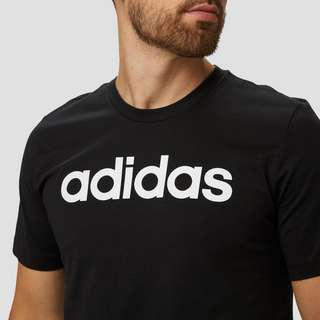 ADIDAS ESSENTIALS LINEAR SHIRT ZWART HEREN
